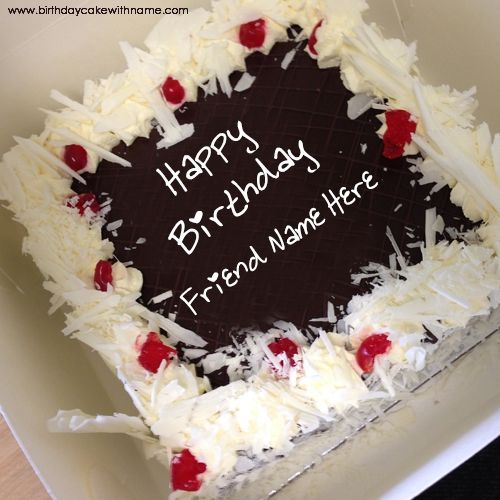 Pin By Eve Ramat On Write Name On Birthday Cake Birthday Cake