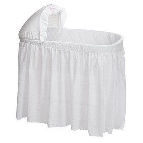 How to Make a Bassinet Skirt