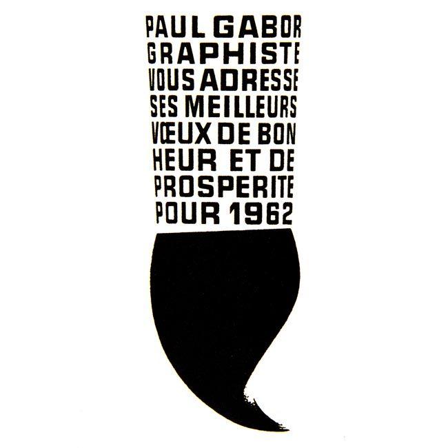 paul gabor / affichiste