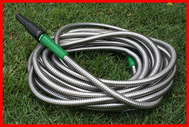 Metal Garden Hose For Sale In 2020 Garden Hoses Metal Garden Hose Garden Hose