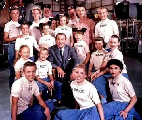 Mickey Mouse Club    1959.....I never knew I was watching reruns! I wanted to join the club.