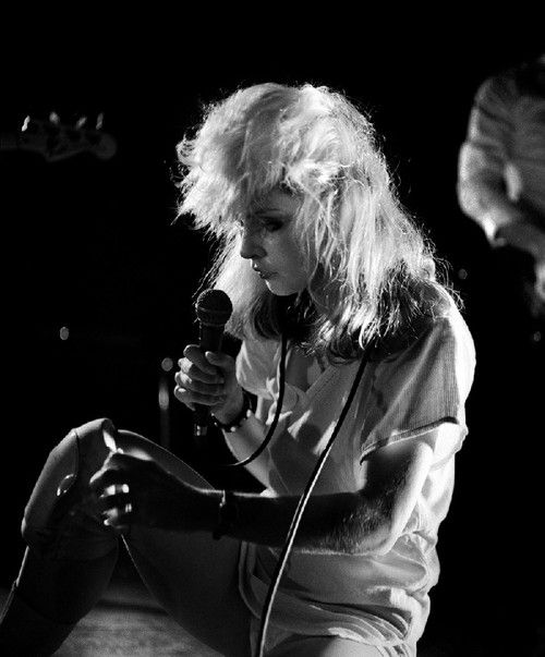 Debbie Harry, Blondie. The Roundhouse in London, photo by Phil Grey