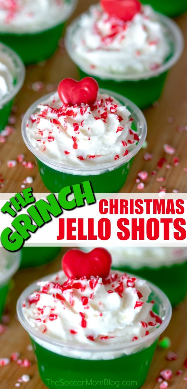 Grinch Jello Shots (with Video)
