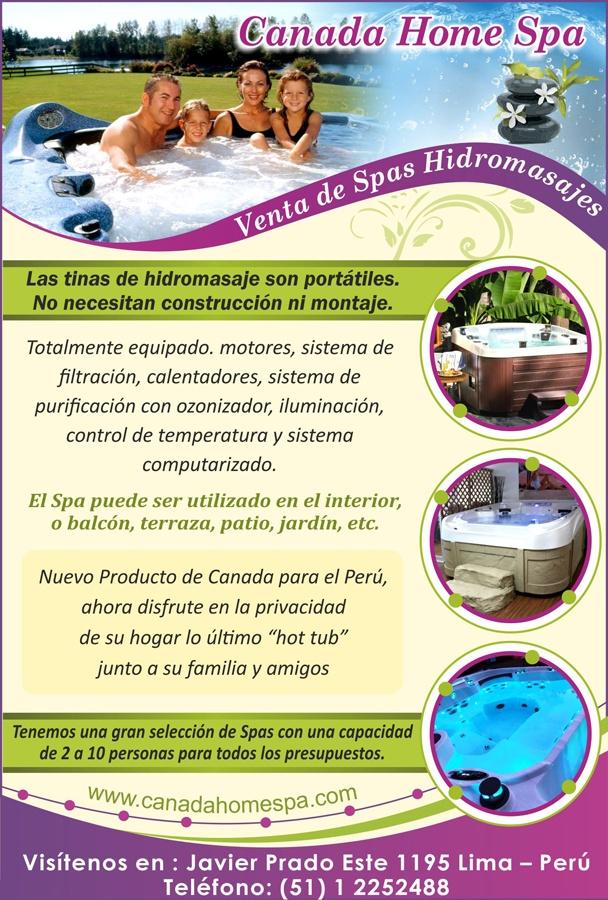Producto Canadience Ahora en Peru  Venta de Spas Hidromasajes  http://www.canadahomespa.com/