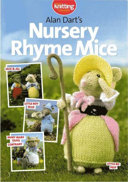 Игрушки вязанные - описание мышек