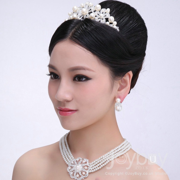 Pearl Necklace Wedding Bridesmaids Hair Accessories £29.79