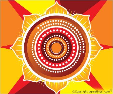Diwali Rangoli Design.