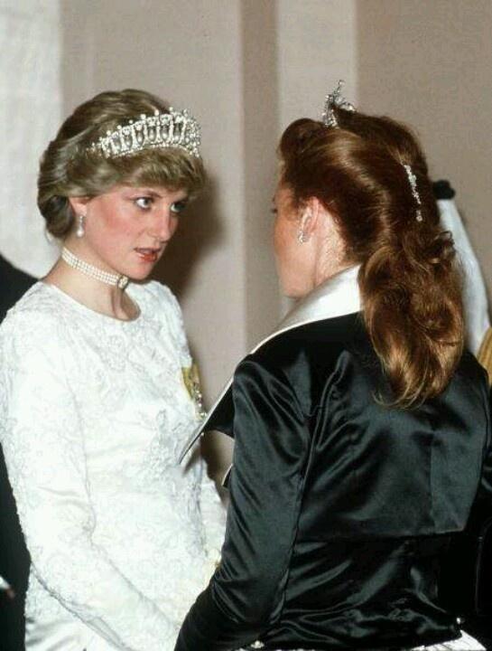 Diana and Sarah, Duchess of York