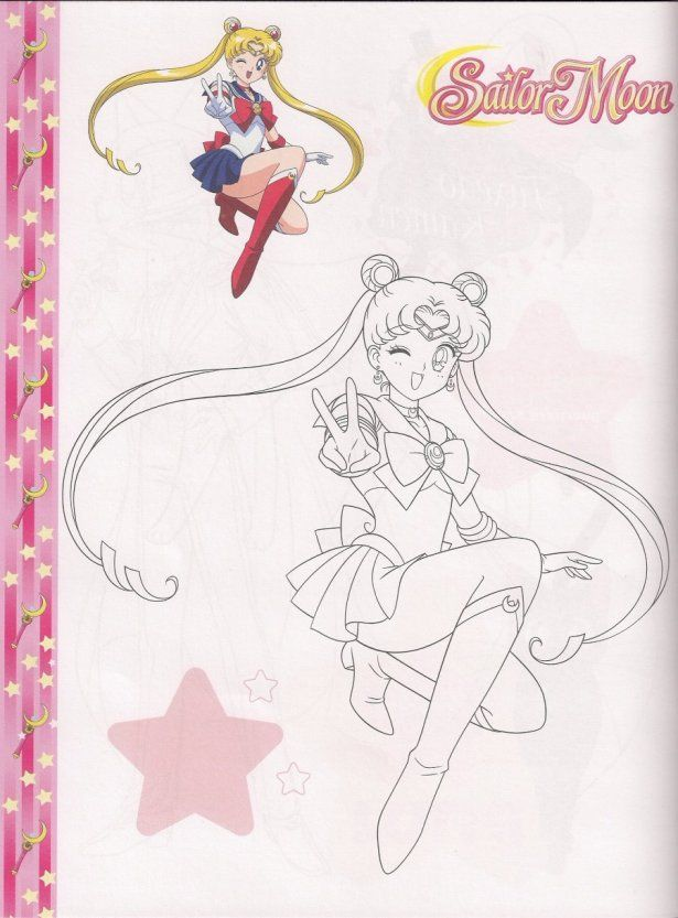 25+ best Sailor Moon Coloring pages images by Priscilla Clariza on ...
