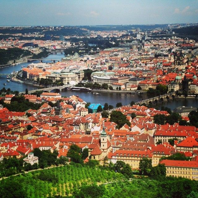 Pqnoramix Praha I #prague #czech #view #horizon