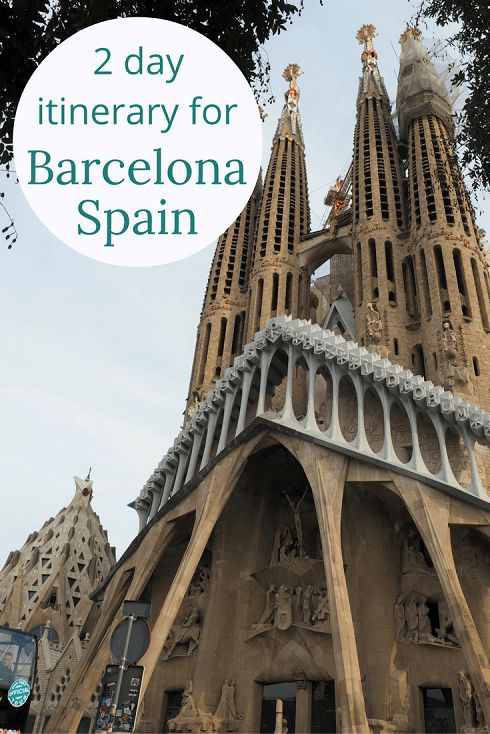 Adoration 4 Adventure's 2 day itinerary for Barcelona, Spain exploring Park Guell, Gothic Quarter, La Rambla and Port Barcelona.