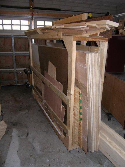 238 best lumber rack images on pinterest lumber rack for Sheet goods cart