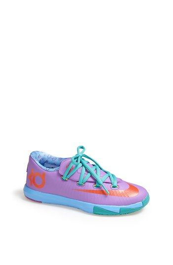 Nike \u0027KD VI\u0027 Basketball Shoe (Walker, Toddler \u0026 Little Kid) |
