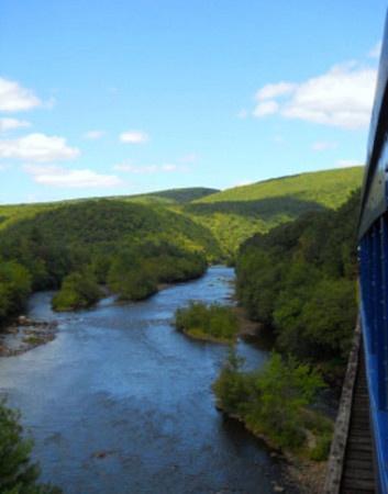 Lehigh River Gorge in Pennsylvania
