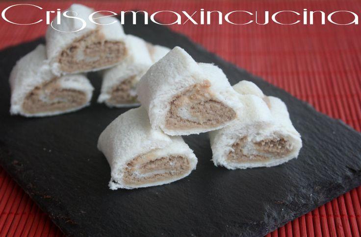 Rotolini con mousse di tonno, ricetta finger food