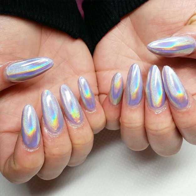 11 Best Holographic Nail Art Designs Images On Pinterest