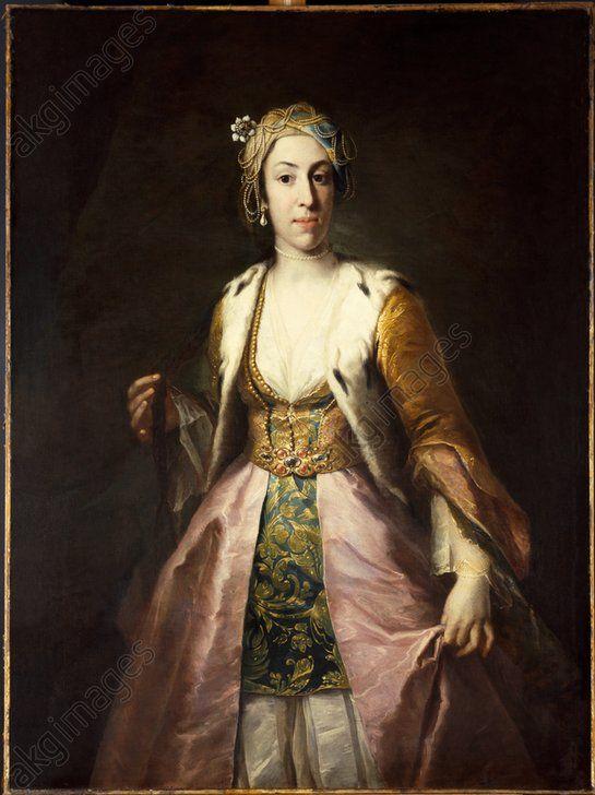 Lady Mary Wortley Montagu / Painting by B. Nazari