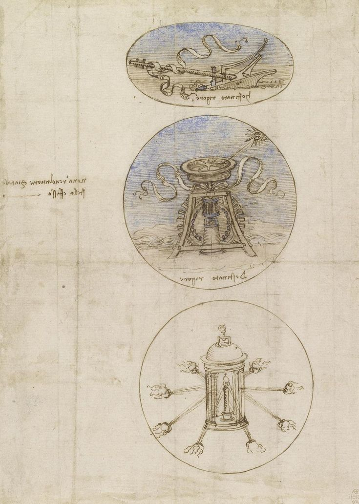 Three emblems  Leonardo da Vinci (Vinci 1452-Amboise 1519)   #TuscanyAgriturismoGiratola