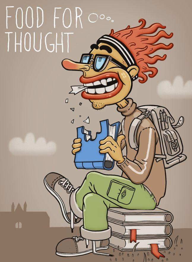 Illustration, NTNU lunchbox