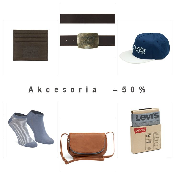 #akcesoria #wyprzedaz #sale #upto50 #levis #liveinlevis #levisaccessories #socks #underwear #bodywear #bags #belts #wallets #hat