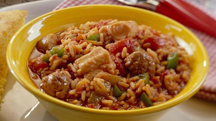 Recipe for Catfish and Sausage Jambalaya: When you're traveling, checking out a local diner is a good way to find out what's popular in the area. If you're ever in Creole country, you might find a neighborhood eatery serving a sausage-seasoned stew like t