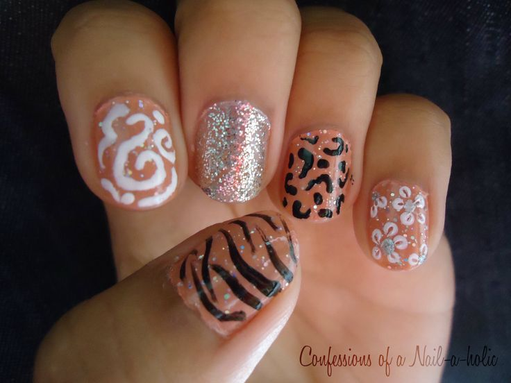 best 25 cheetah nail designs ideas on pinterest cheetah