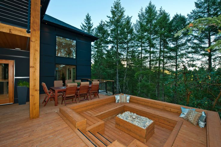 17 best images about alair homes nanaimo arrowsmith for Garden decking seating areas