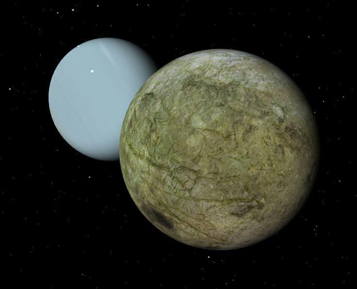 Inside Ariel Uranus Moon (page 2) - Pics about space