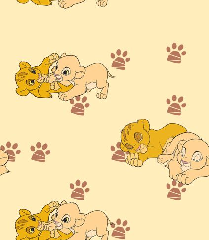 Baby Simba and Nala Wallpaper by #LionKingPride on deviantART