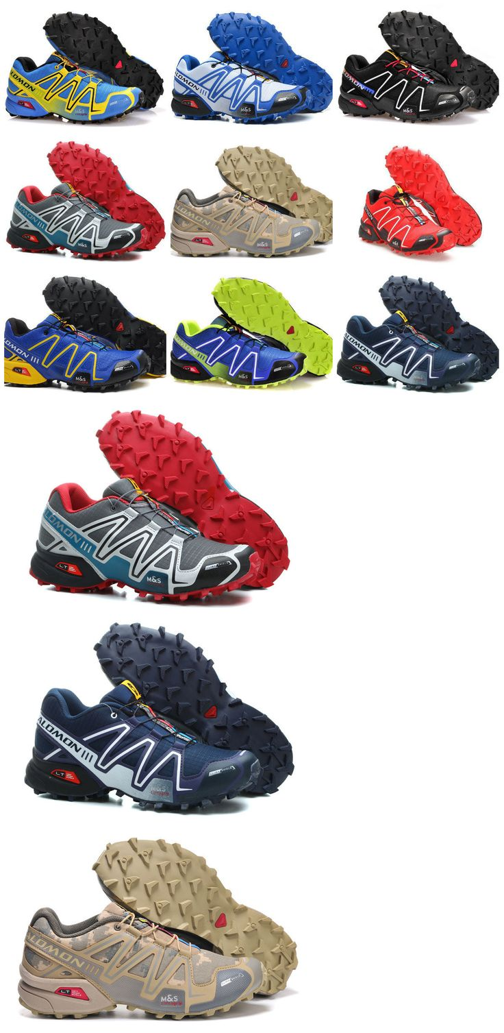Mens 181392: Men S Salomon Speedcross 3 Athletic Running Sports Outdoor Hiking Shoes Sneakers -> BUY IT NOW ONLY: $35 on eBay!
