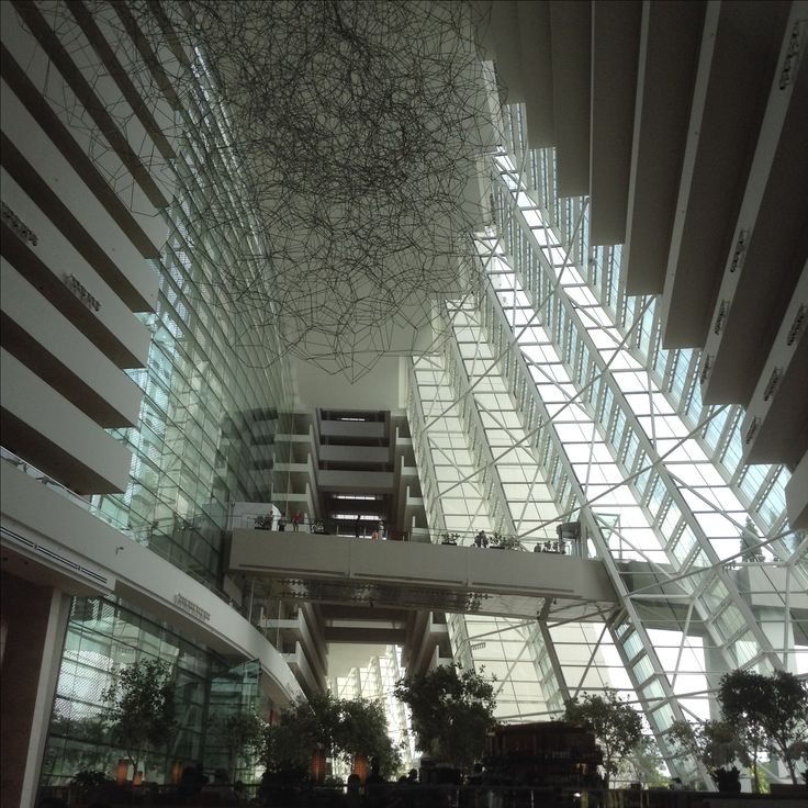 Lobby #MarinaBayhotel #Singapore