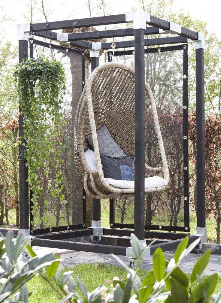 DIY: hanging chair in the backyard | Make-over door Leonie Mooren | aflevering 3 vtwonen doe-het-zelf
