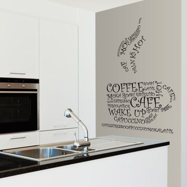 17 best images about wall stickers on pinterest wall maps home and my house - Stickers credence cuisine ...