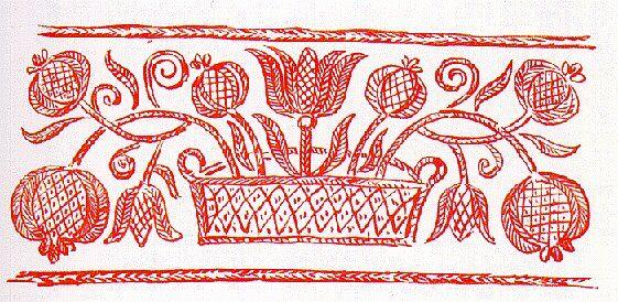 Dunántúli hímzések - A magyar nép művészete c. könyv, IV. kötet - http://mek.oszk.hu/01600/01671/html/index.html