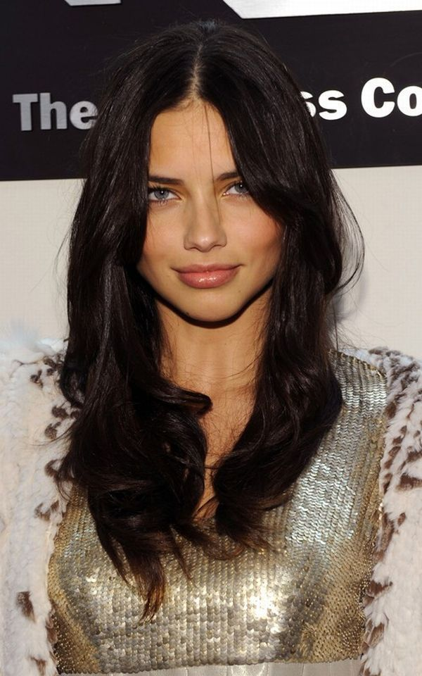 adriana lima hair - Google Search
