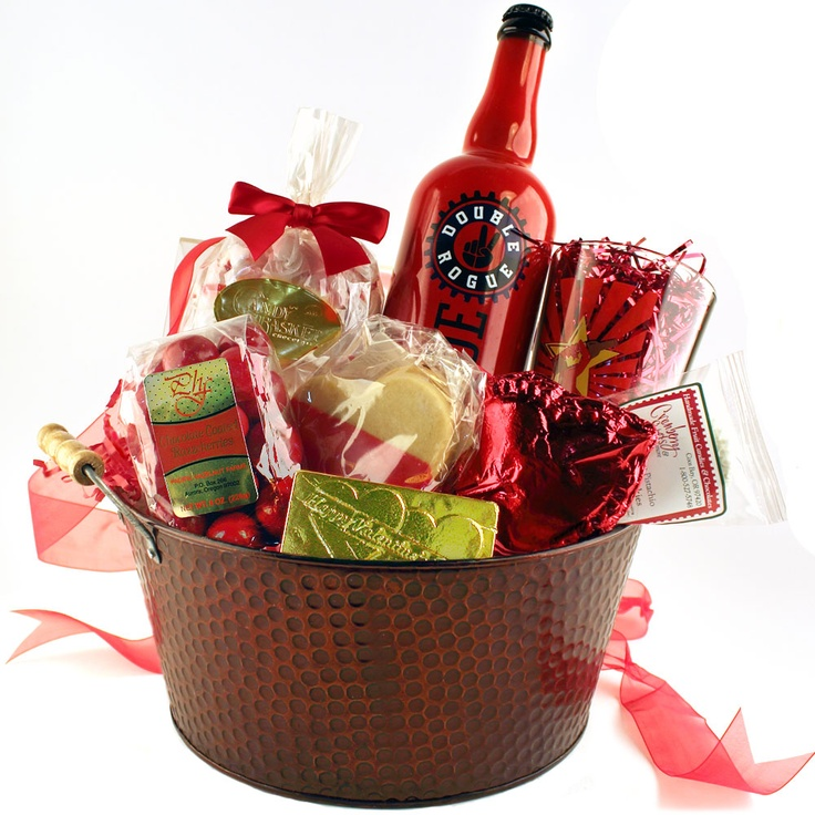 289 best Valentines day basket images on Pinterest | Valentines ...