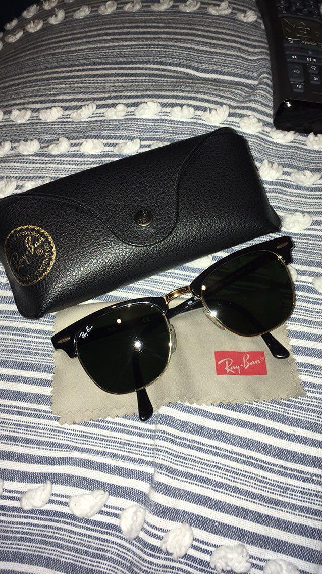Ray Ban Clubmaster Sunglasses - Mercari: BUY & SELL THINGS YOU LOVE