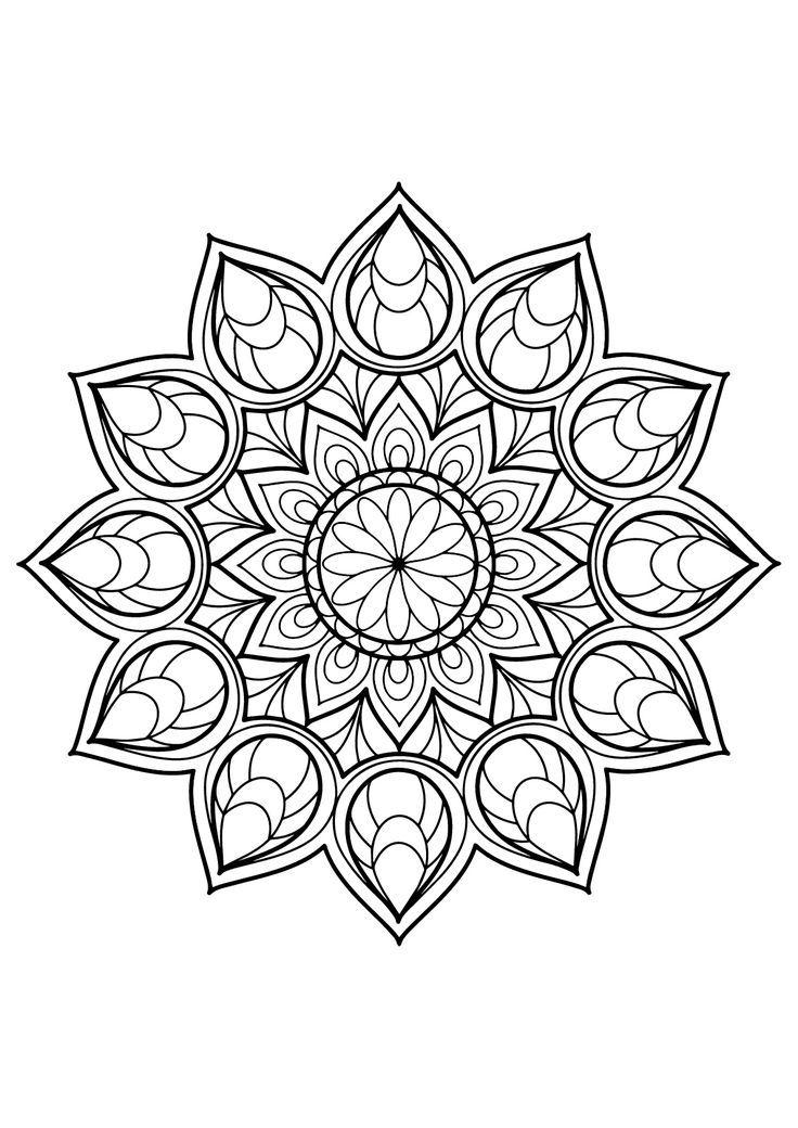 Magnificent Mandala from Free Malbuch für Erwachsene