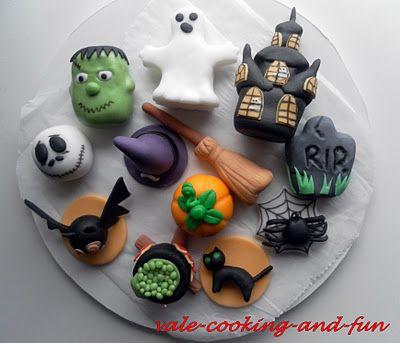 Cooking & Fun by Valentina: Bild-Tutorial: Easy Halloween Figure/ Leichte Halloween Figuren/ Упътване по снимки - Лесни фигури за хелоуин