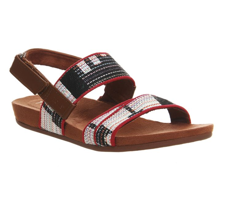 Toms Tiera Sandal Multi Tribal Woven - Sandals