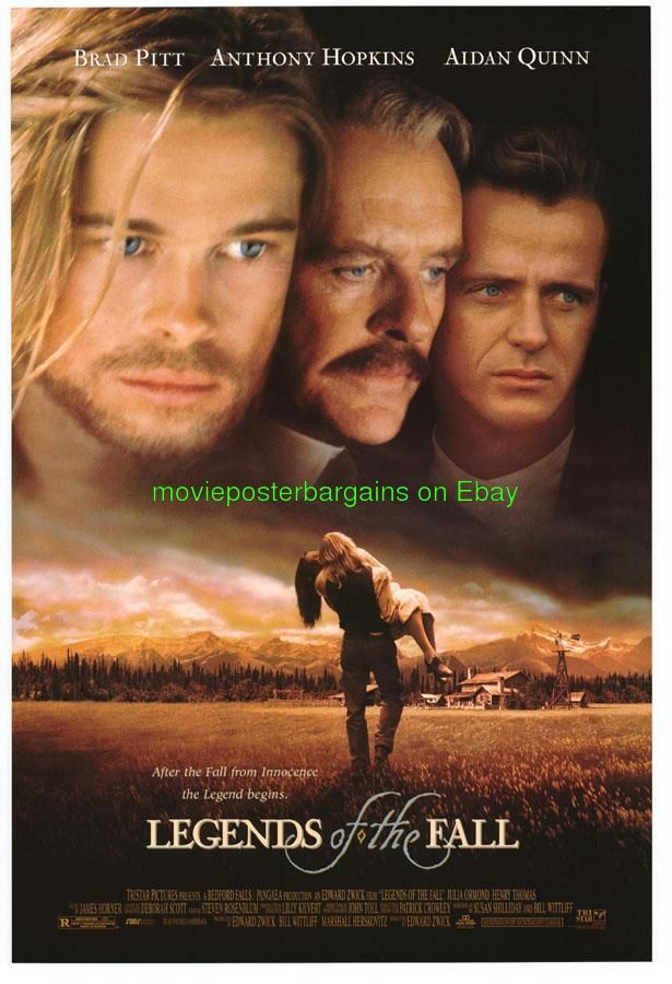 brad pitt movie posters | Legends of The Fall Movie Poster DS 27x40 Brad Pitt | eBay