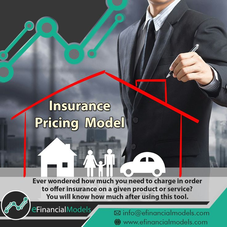 Insurance Pricing Model - An Excel Model to offer insurance on top of your products #insurance #pricing #product