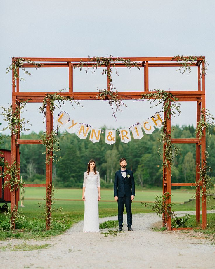 bröllopsskylt diy