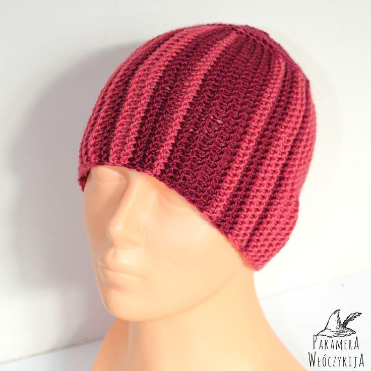 Handmade. Ręcznie robiona czapka. http://pakamera.wix.com/pakamera-wloczykija#!wisienka-na-torcie/cl0e