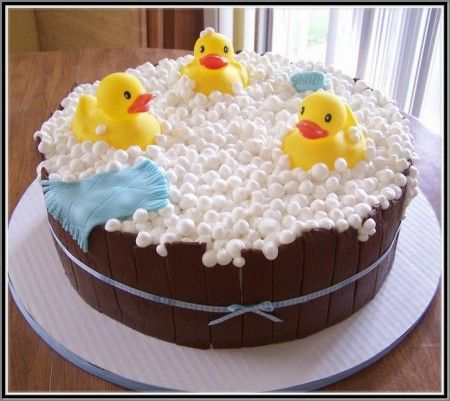 Rubber Duck Baby Shower Cake Ideas