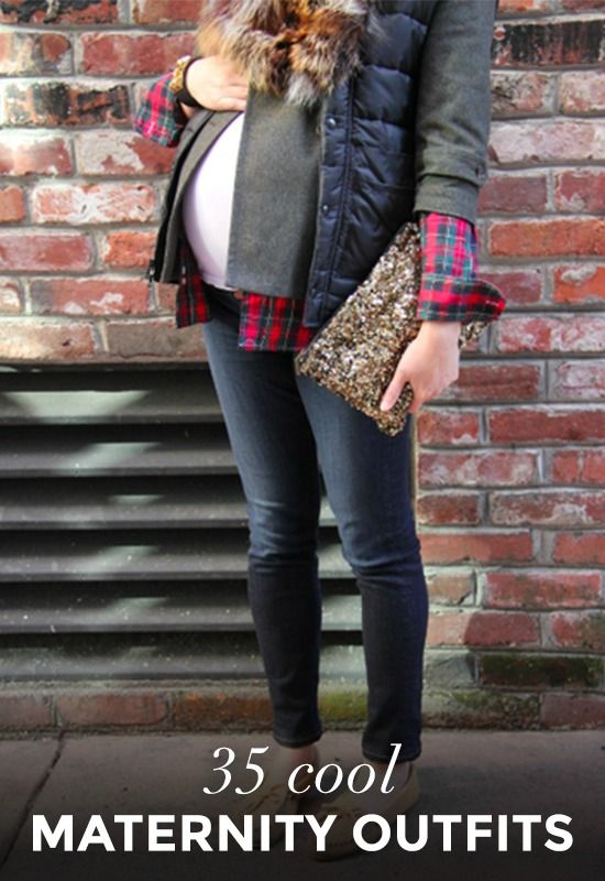 Pregnant Street Style: 35 Cool Outfits to Rock While Expecting!