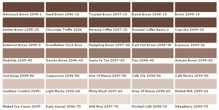 Benjamin Moore Paint Color Swatches #product #homedecor