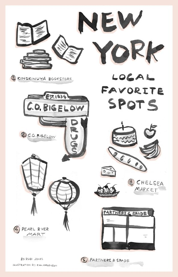 5 local favorites in New York City w/ Rubi Jones   Sycamore Street Press