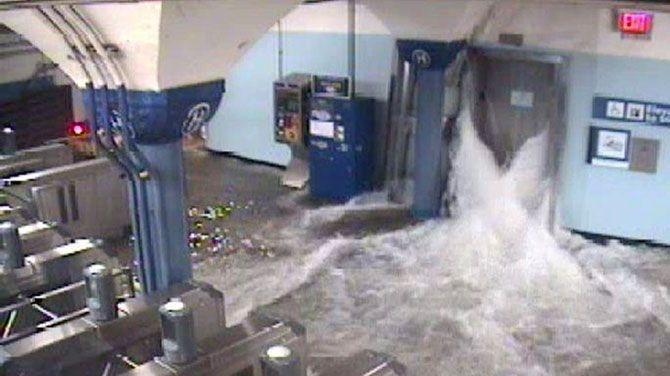 Ravage aan Amerikaanse oostkust na doortocht Sandy