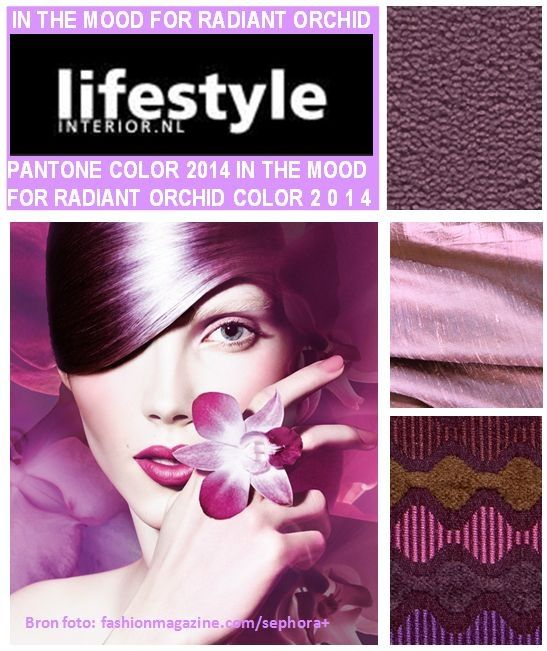 lifestyle-interior.nl Facebook post week 4 In the mood for Radiant Orchid. www.facebook.com/lifestyle.nl